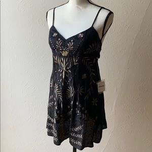 Free People Love Shine Slip Dress NWT (Black /XS)